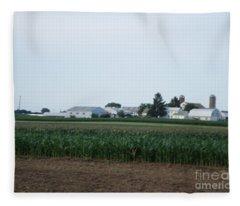 Amish Homestead 9 Fleece Blanket