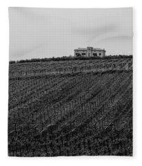 An Italian Farm In Abruzzo Fleece Blanket