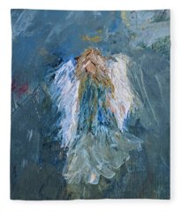 Angel Girl Fleece Blanket
