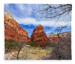 Angels Landing Fleece Blanket