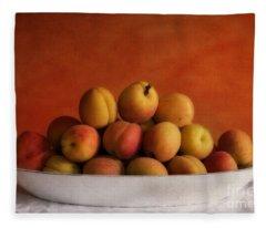 Apricot Delight Fleece Blanket