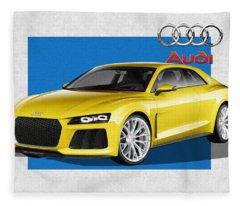 Audi Ag Fleece Blankets