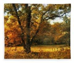 Autumn Arises Fleece Blanket