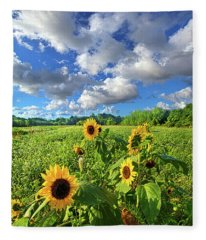 Autumn Is Near Fleece Blanket