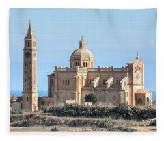 Basilica Ta Pinu - Gozo Fleece Blanket