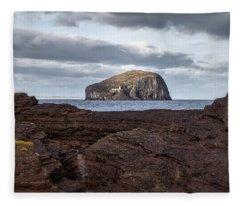 Bass Rock Fleece Blanket