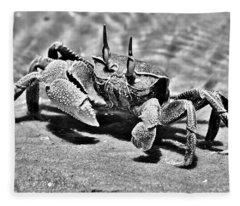 Bazaruto Crab Fleece Blanket