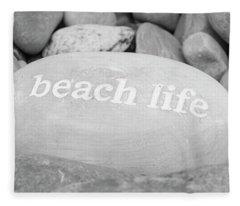 Beach Life Fleece Blanket