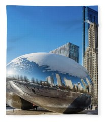Bean Reflections Fleece Blanket