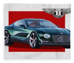 Bentley Motors Fleece Blankets