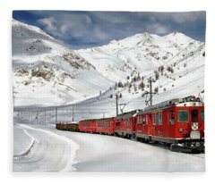 Bernina Winter Express Fleece Blanket