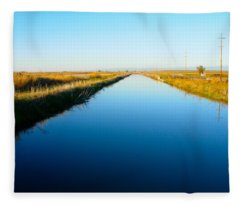 Biggs Canal Fleece Blanket
