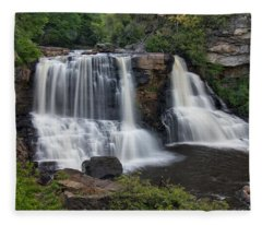Blackwater Falls Fleece Blanket
