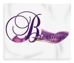 Blessings Fleece Blanket