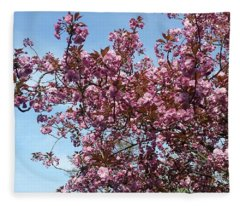 Blossom O'clock Fleece Blanket