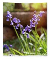 Bluebells Fleece Blanket