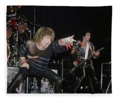 Bon Jovi Fleece Blanket