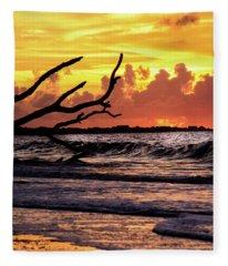 Boneyard Beach Fleece Blanket