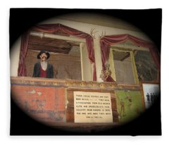 Box Seats Bird Cage Theater  Tombstone Arizona 2004 Fleece Blanket