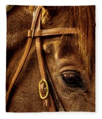 Bridled Fleece Blanket