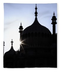 Brighton Pavilion Fleece Blanket