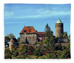 Burg Colmberg Fleece Blanket