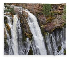 Burney Falls Fleece Blanket