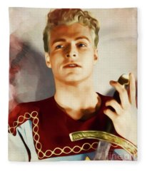 Buster Crabbe As Flash Gordon Fleece Blanket