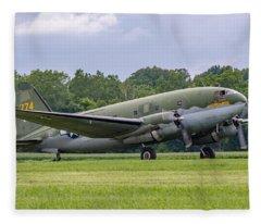 C-46 Commando Tinker Belle Fleece Blanket