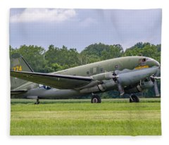 C-46 Commando Tinker Belle Fleece Blanket