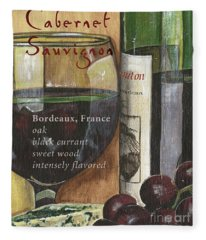 Cabernet Sauvignon Fleece Blanket