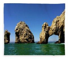 Cabo San Lucas 3 Fleece Blanket