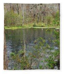 Ripples In The Water Fleece Blanket
