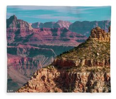 Canyon Grandeur Fleece Blanket