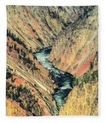 Canyon Jewel Fleece Blanket