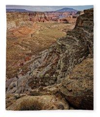 Canyon Vista Fleece Blanket
