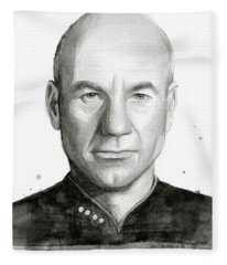Captain Picard Fleece Blanket