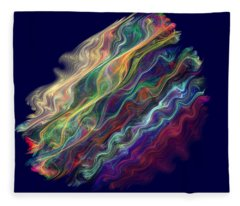Captive Waves Fleece Blanket