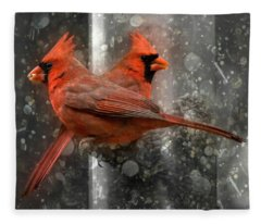 Cary Carolina Cardinals  Fleece Blanket