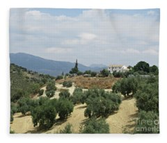 Caseria De San Jose Near Iznajar Fleece Blanket