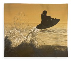 Catching Air Fleece Blanket