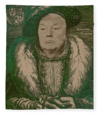 Celebrity Etchings - Donald Trump Fleece Blanket