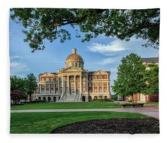 Christopher Newport Hall Fleece Blanket