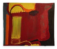 Christ's Profile Fleece Blanket
