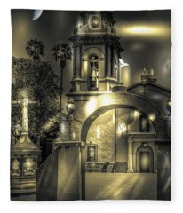 Church In Bernal Fleece Blanket