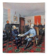 Civil War: Appomattox, 1865 Fleece Blanket