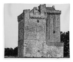 Clackmannan Tower Fleece Blanket