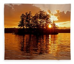 Clarity Of Spirit Fleece Blanket