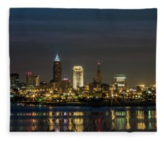 Cleveland Nights Fleece Blanket