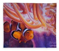 Clownfish Fleece Blanket